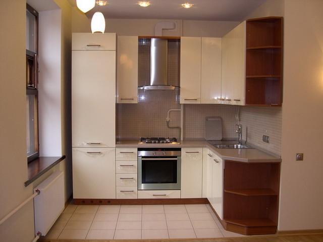 дизайн угловой кухни где ставить мойку и куда вместить плиту