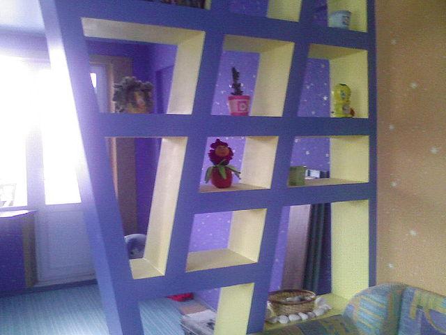 Как сделать зонирование комнаты своими руками из гипсокартона