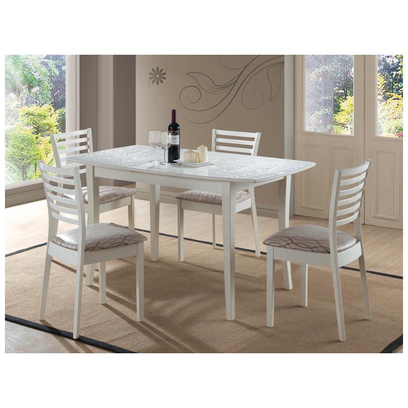Стол на кухню белого цвета