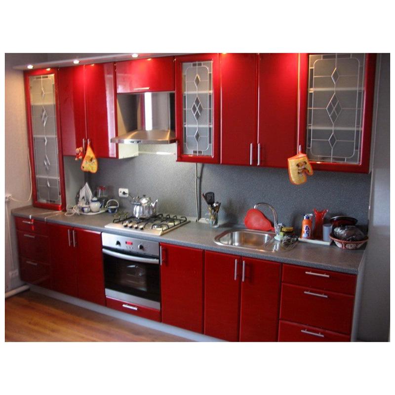 Кухни красного цвета недорого