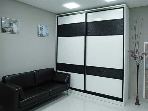 черно-белые шкафы купе фото