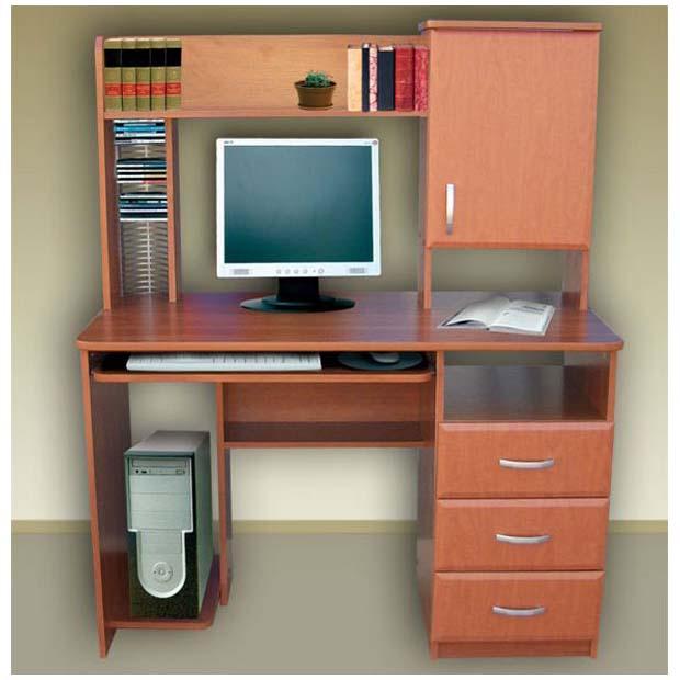 """Стол компьютерный из лдсп """"ideal 7"""": 295,00 руб. - столы, за."""