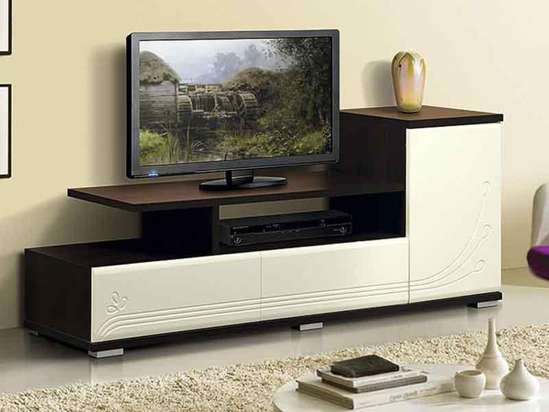 Тумбу под телевизор  цвет венге