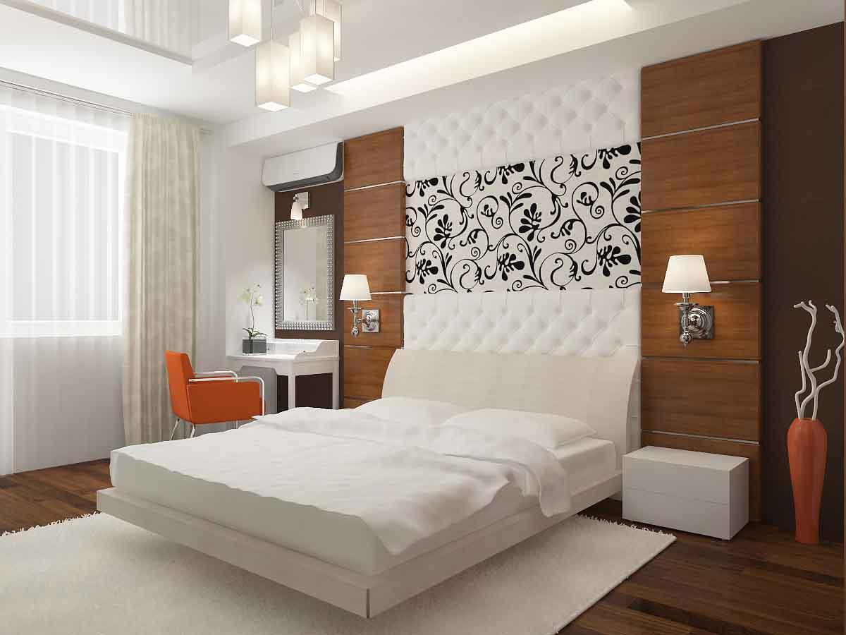 Простой ремонт в спальне своими руками фото варианты