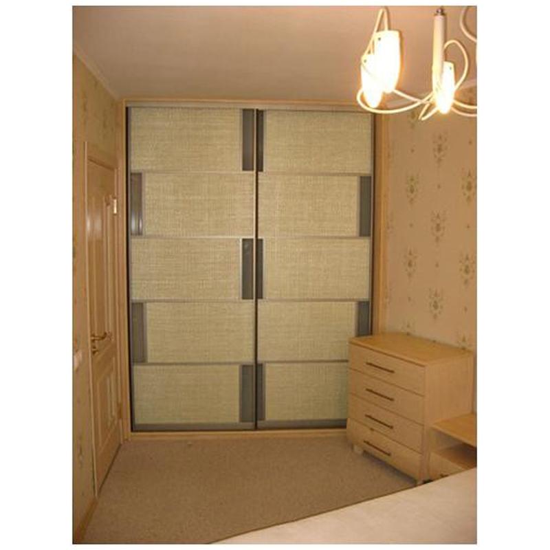 Шкаф-купе с матовыми фасадами: 1732,62 руб. - шкафы-купе, за.