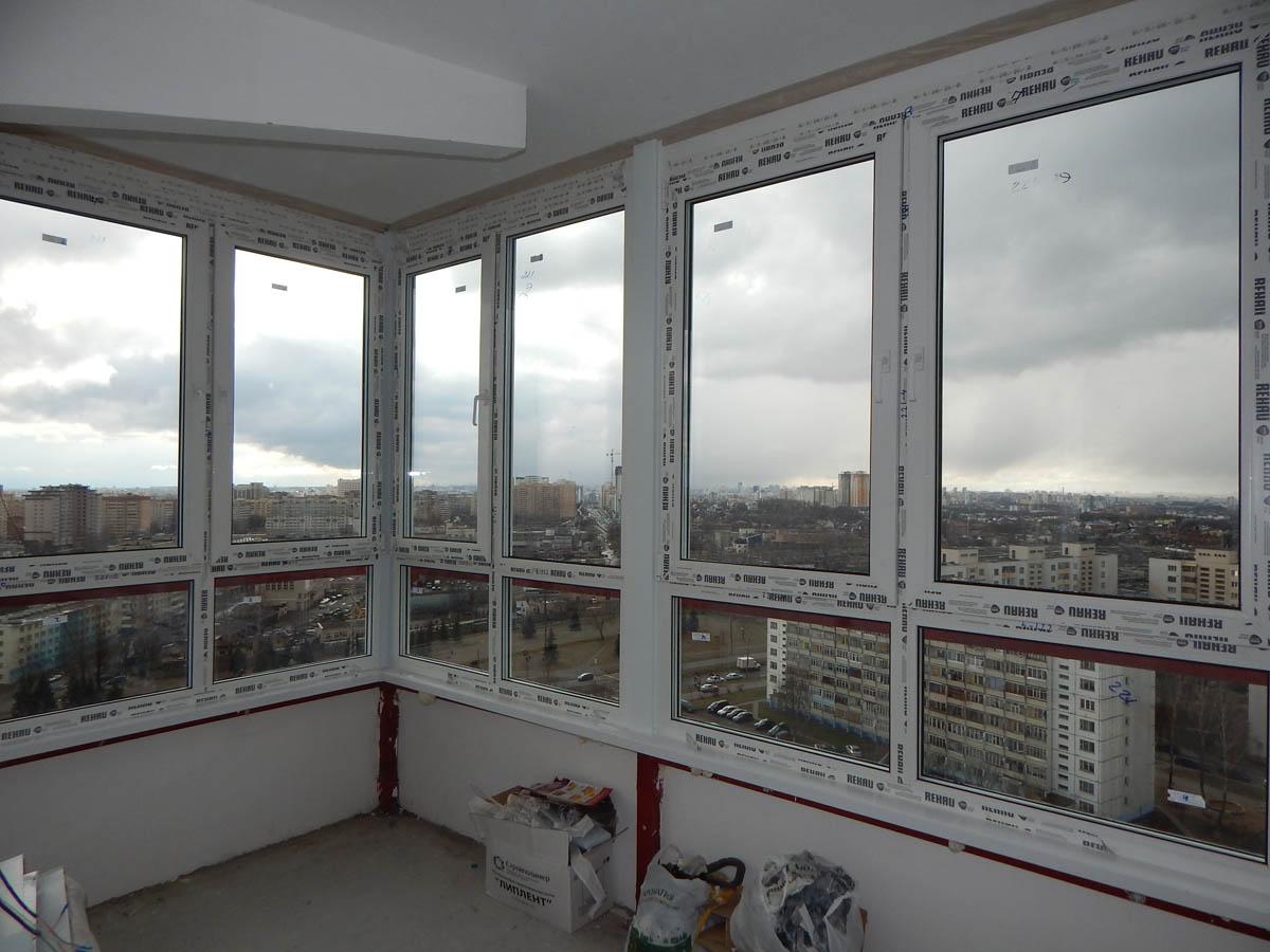 Максимально теплое остекление балконов любой сложности (в то.