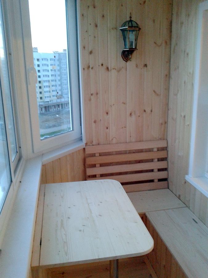 Монтаж вагонки на балкон: от 12,06 руб. - отделка вагонкой, .