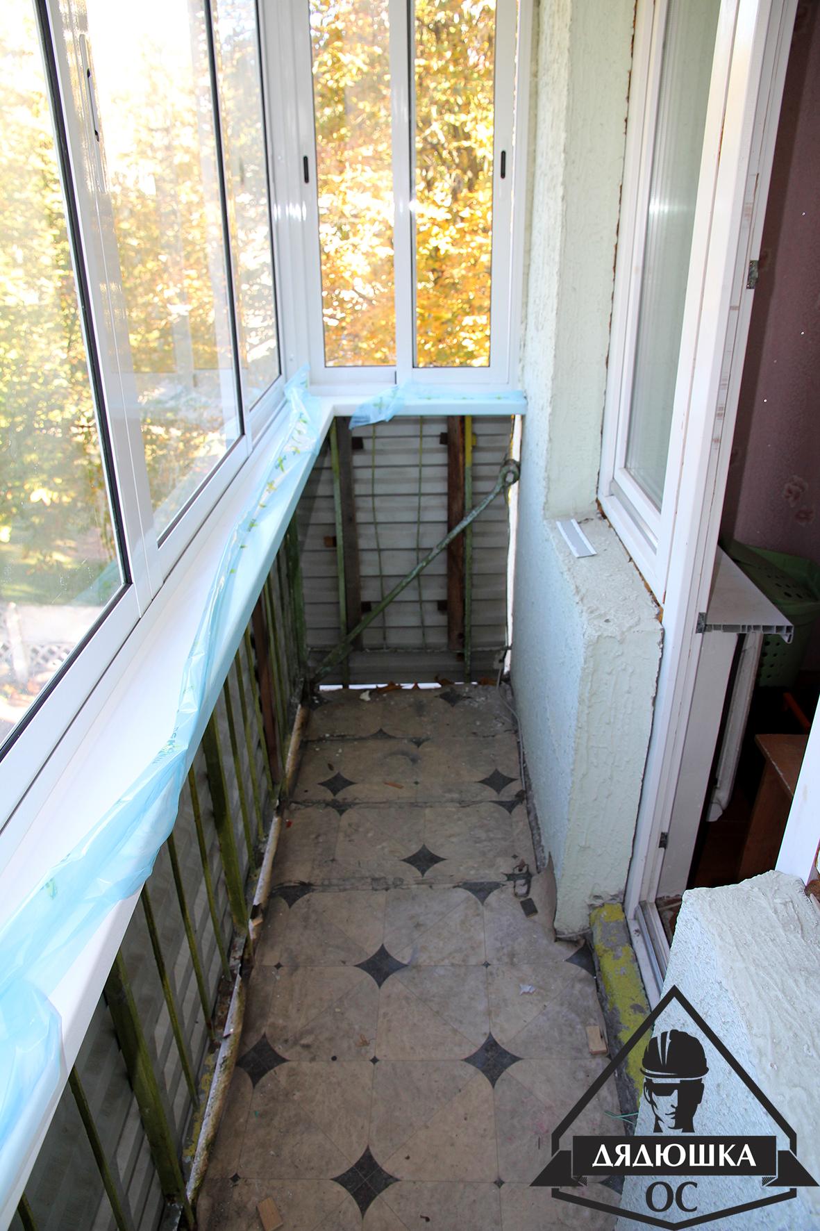 Обновление балкона.