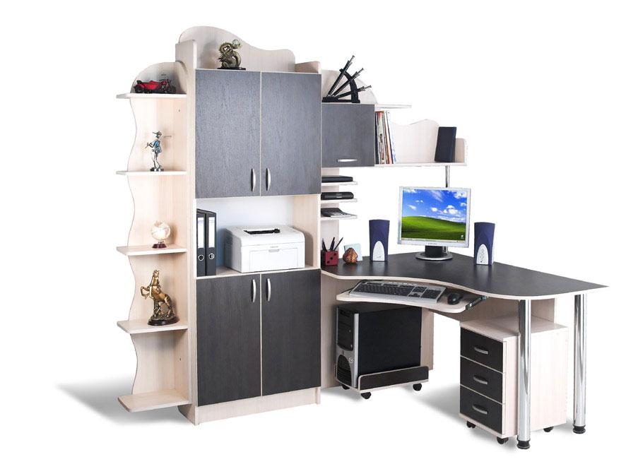 Стол компьютерный со шкафом - столы, заказать или купить в м.