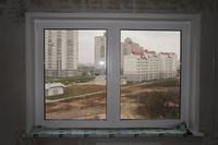 Отделка откосов двустворчатого окна пвх - отделка оконных от.