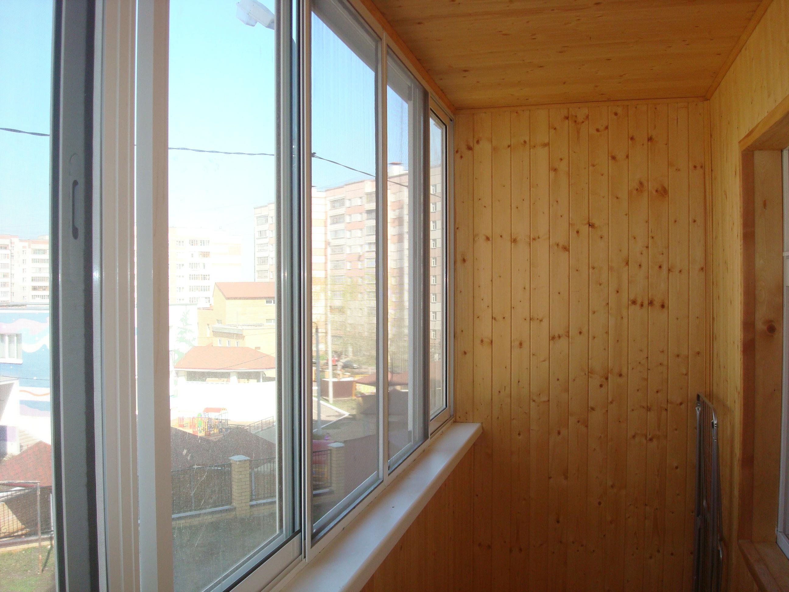 Балконные рамы фото.