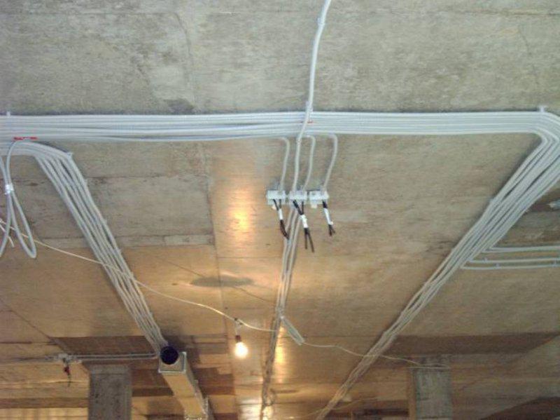 Электромонтаж проводки в квартире