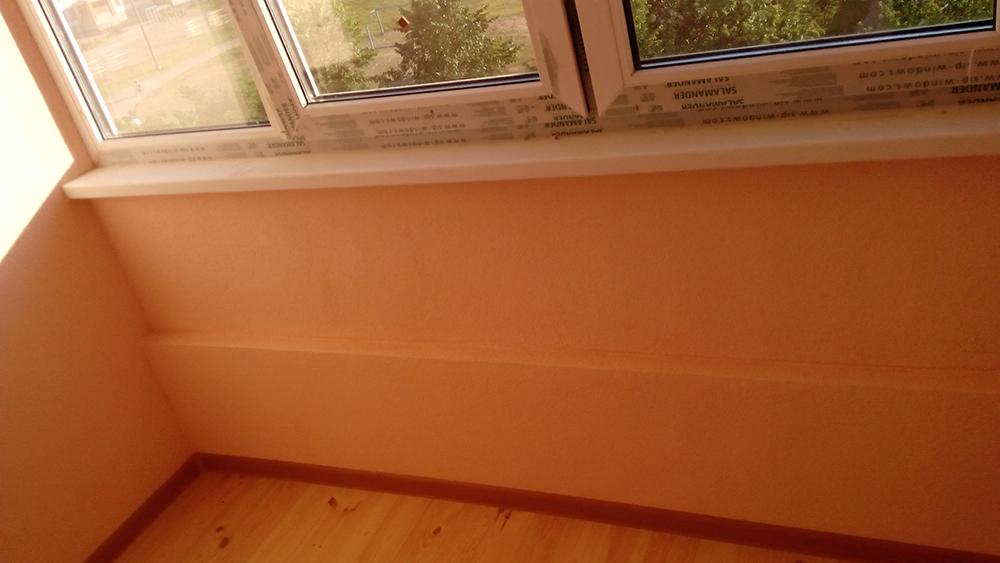 Фото ремонт балкона под ключ