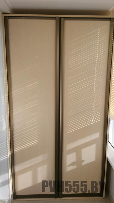 Распашной шкаф для балкона - шкафы, стеллажи, заказать или к.